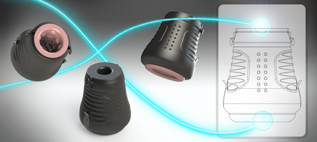 Electrostimulation Sleeve jack socket design