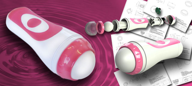 Roller baller vibrator Sated Design
